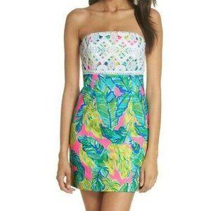 Lilly Pulitzer Brynn Dress Pink Sunset Size 14